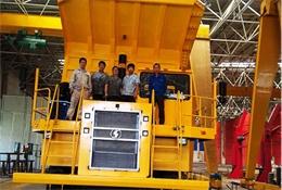 陕汽乌海SXM120型非公路矿用自卸车